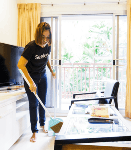 Home cleaning maid